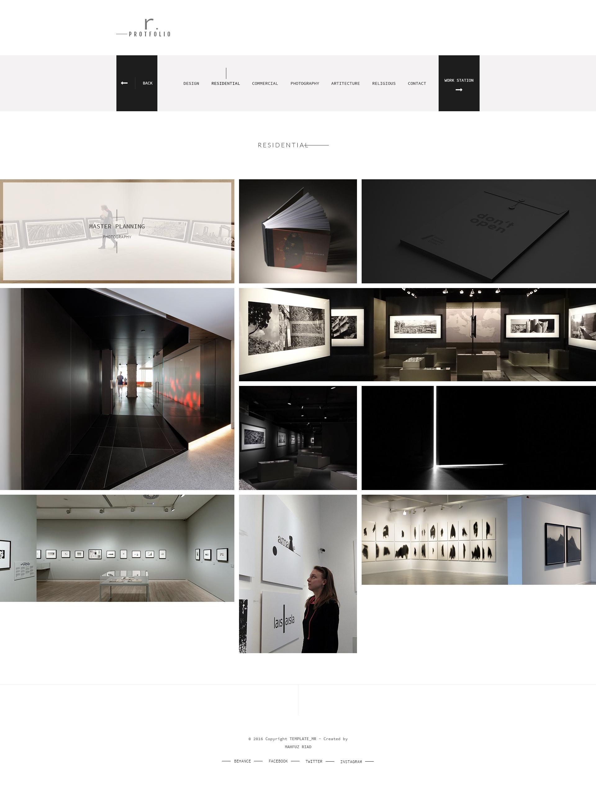 Company Portfolio Template R.protfolio  Creative Personalcompany Portfolio Template.