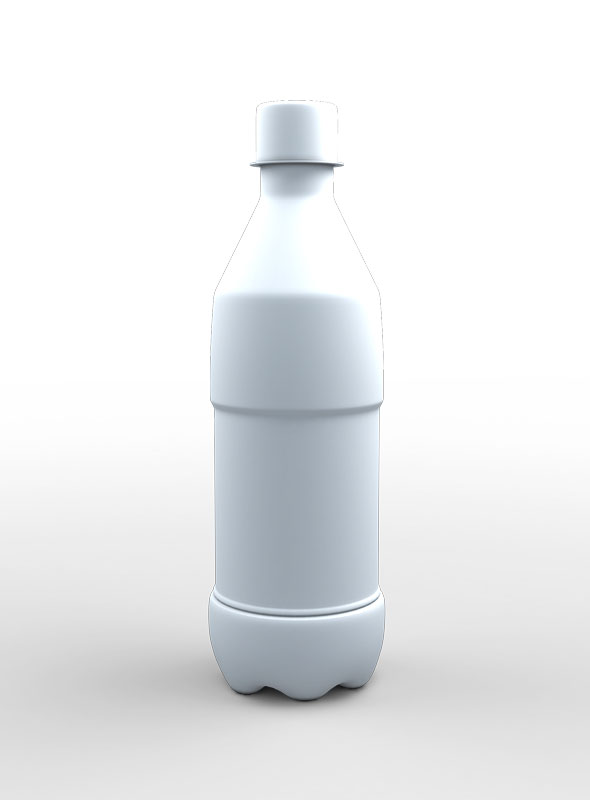 Bottle 3d Model - 3DOcean Item for Sale