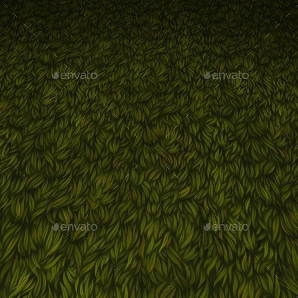 ground grass tile 4 - 3DOcean Item for Sale