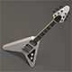 Flying V Electro Guitar - 3DOcean Item for Sale