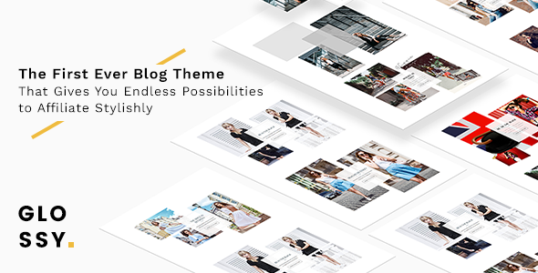 Glossy – Fashion Blog Theme for Stylish Affiliation