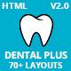 DentalPlus - Dental Care HTML5 Template - ThemeForest Item for Sale