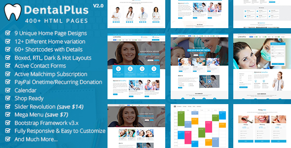 DentalPlus - Dental Care HTML5 Template