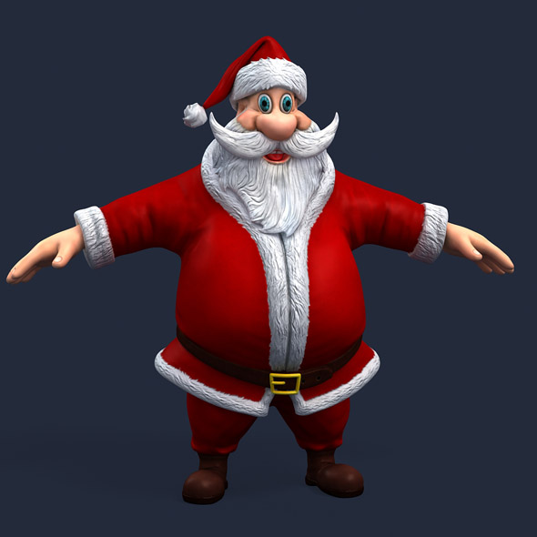 santa 1 - 3DOcean Item for Sale