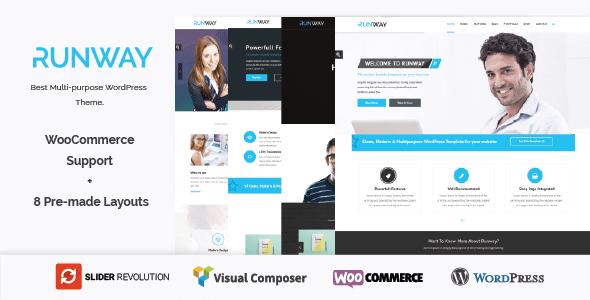 Runway - Responsive Multi-Purpose WordPress Theme