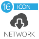 Network Flat Icons - GraphicRiver Item for Sale