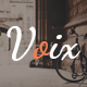 Voix - Blog PSD Template - ThemeForest Item for Sale