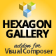 Hexagon Grid Gallery Addon for Visual Composer