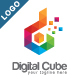 Digital Cube Logo - GraphicRiver Item for Sale