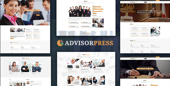 AdvisorPress - Consultancy, Finance and Law Business HTML5 Template - Corporate Site Templates