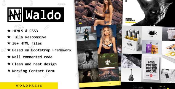 Waldo – Creative Responsive Portfolio Theme