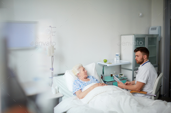 Consulting patient - Stock Photo - Images