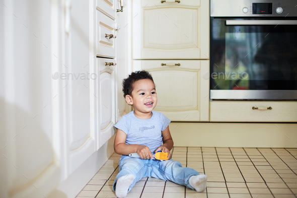 Play on the floor - Stock Photo - Images