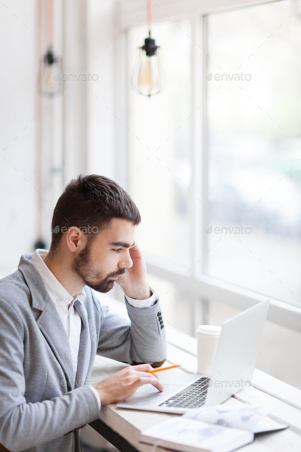 Working at break - Stock Photo - Images