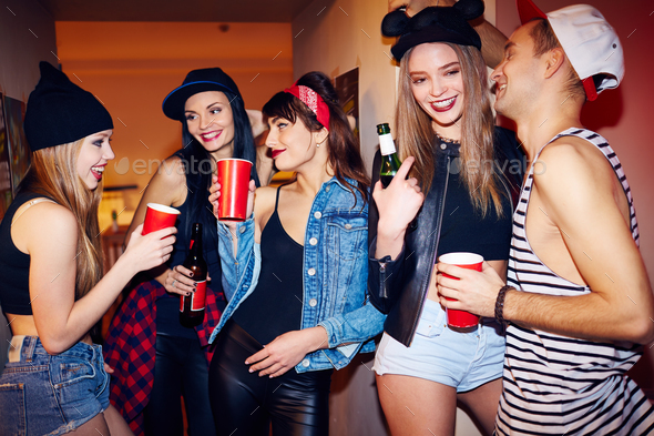 Awesome House Party - Stock Photo - Images
