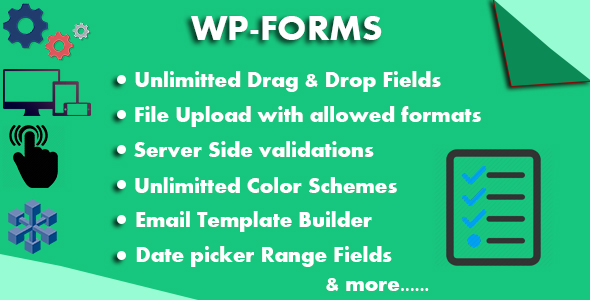 WP-Forms Custom Form Builder - CodeCanyon Item for Sale