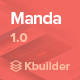 Manda- Multipurpose Email Template + Builder 1.0 - ThemeForest Item for Sale
