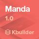 Manda- Multipurpose Email Template + Builder 1.0 - ThemeForest Item for Sale