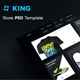 King - Store PSD Template - ThemeForest Item for Sale