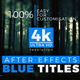AE Titles 4k - VideoHive Item for Sale