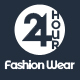 24 Hour Fashion Wear eCommerce PSD Template Nulled