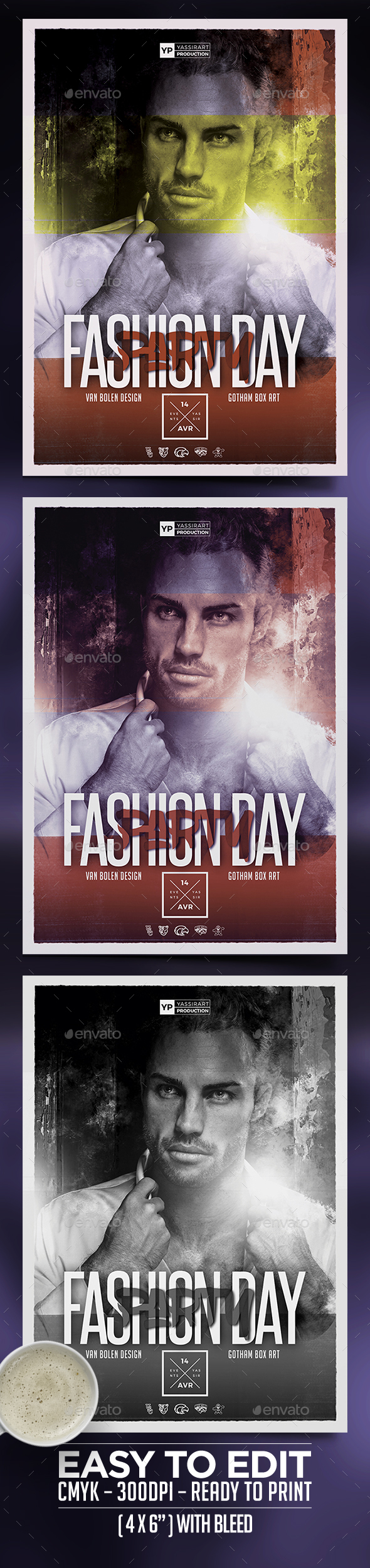 A3 Fashion Day Poster - Miscellaneous Events