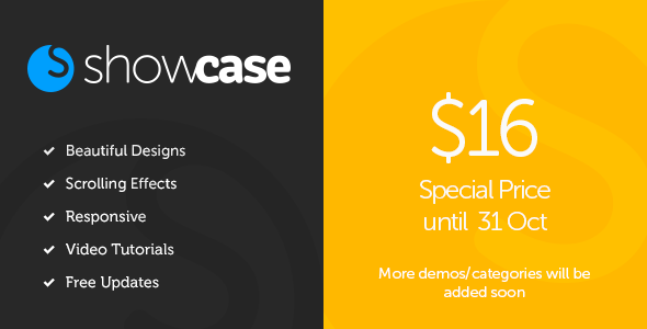 Showcase – Muse Portfolio Template – Responsive