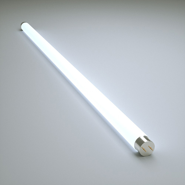 Fluorescent Lamp - 3DOcean Item for Sale