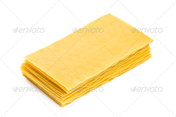 lasagne sheets - Stock Photo - Images