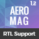 AeroMag - News & Magazine Responsive Blogger Template - ThemeForest Item for Sale