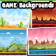 10 Game Backgrounds - GraphicRiver Item for Sale