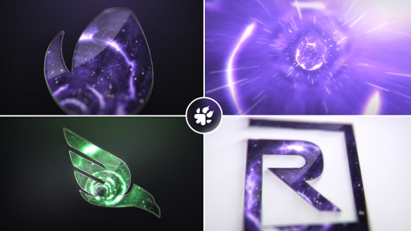 Dimensional Vortex Logo - Project for After Effects (Videohive) - Free download