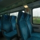 Modern Empty Train Wagon With Table, Seat Places And Windows, Vienna, Austria - VideoHive Item for Sale