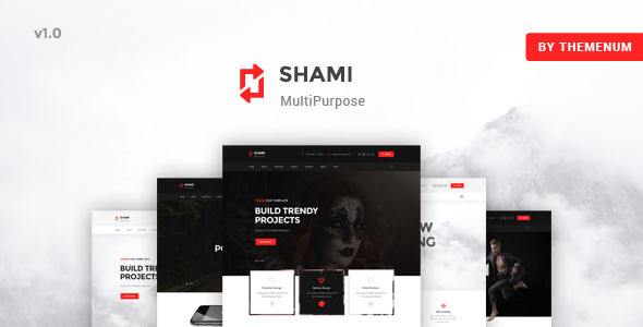 SHAMI - A Stunning and Creative Multipurpose HTML Template