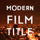 Modern Movie and Film Title - VideoHive Item for Sale