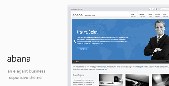 Abana - Responsive Business Joomla Template