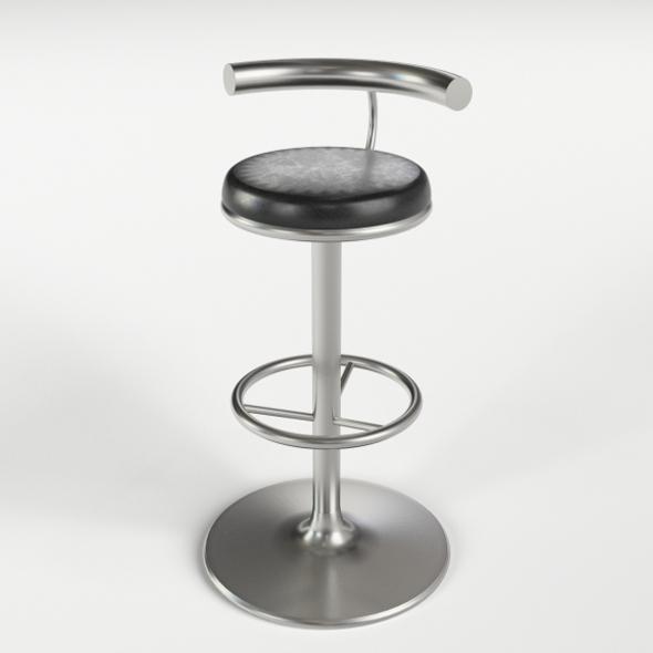 Bar Stool 3 - 3DOcean Item for Sale