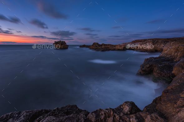 Rocky sunrise - Stock Photo - Images