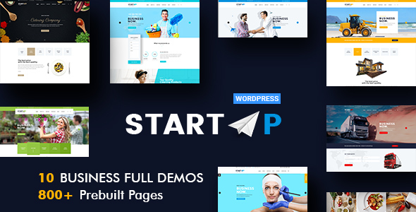 StartUp - Multiuse Business WordPress Theme
