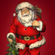 Rotating Santa Claus - VideoHive Item for Sale