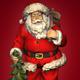 Rotating Santa Claus - VideoHive Item for Sale