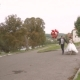 Bride And Groom On The Walk - VideoHive Item for Sale