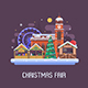 Europe Christmas Fair Background - GraphicRiver Item for Sale