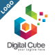 Digital Cube - Colorful Letter D Logo V2 - GraphicRiver Item for Sale