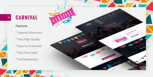 Carnival - Material Event Template - Events Entertainment