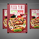 Pizza Time Flyer New Nulled