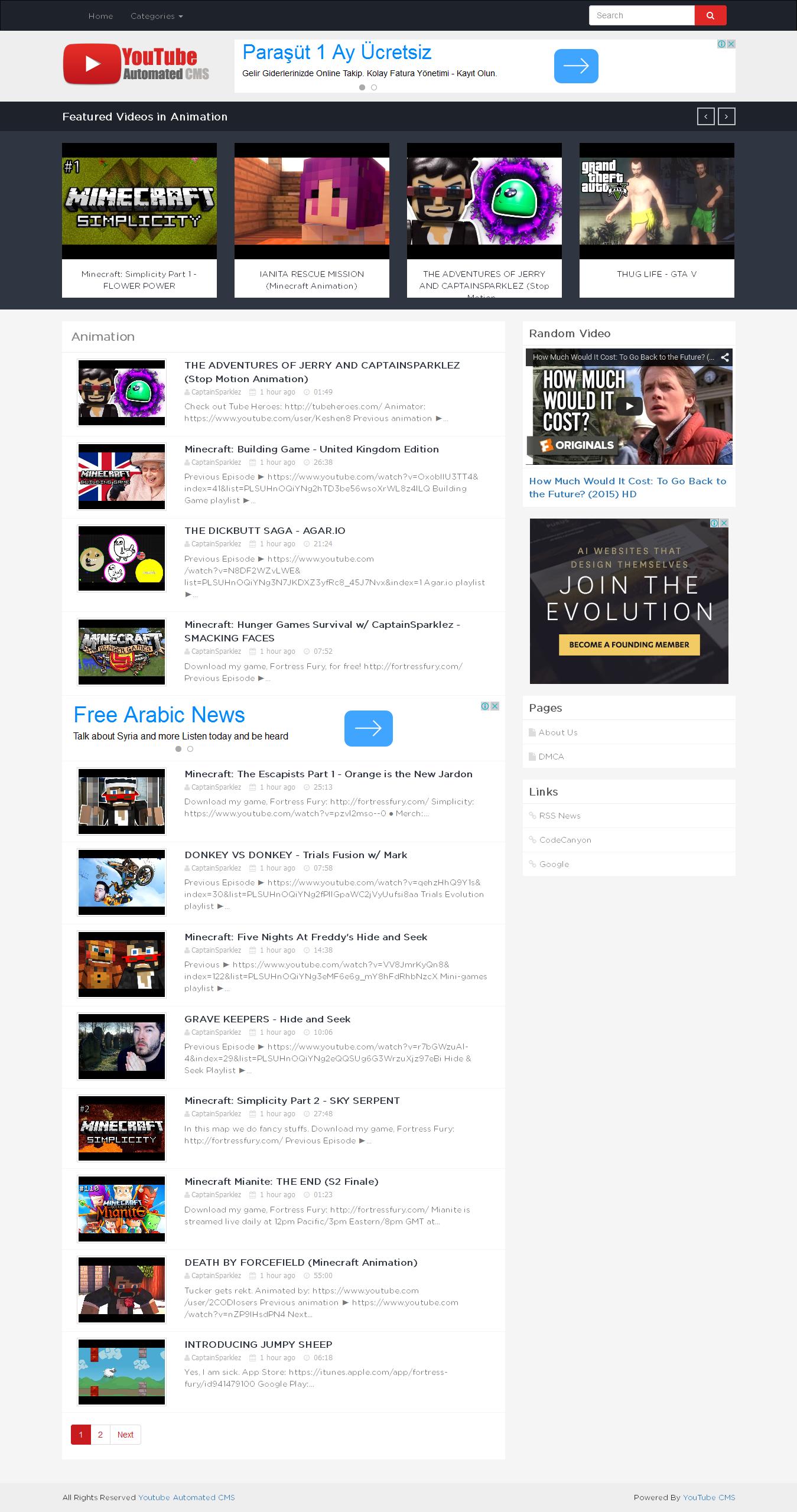 YouTube Automated CMS by xmush | CodeCanyon