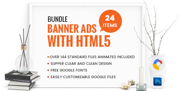 Bundle Banner Ads With HTML5 - Over 144 files GWD - CodeCanyon Item for Sale