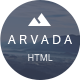 Arvada — Creative Coming Soon & Maintenance Mode Template - ThemeForest Item for Sale