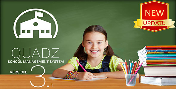 Quadz School Management System - CodeCanyon Item for Sale